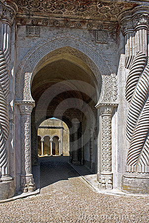 Portico of the Palace of Pena