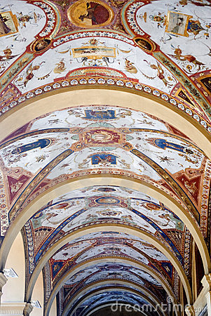 Porticos in Bologna, Italy
