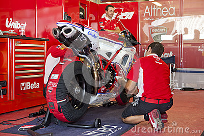 Superbikes 2011 Editorial Image