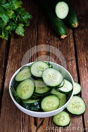 Free Portion Of Fresh Cucumbers Stock Photo - 59652840