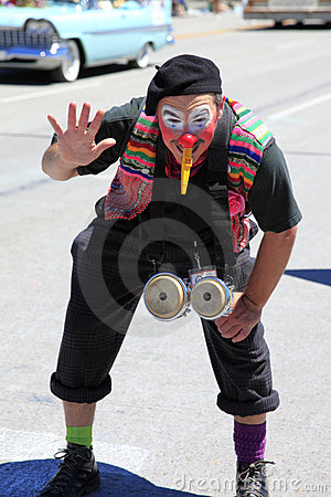 PORTLAND - JUNE 12: ROSE FESTIVAL ANNUAL PARADE. Editorial Stock Image