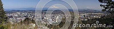 Portland, Oregon Panorama