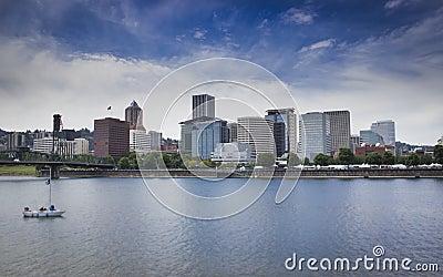 Portland Oregon Skyline