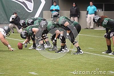 Portland State Vikings football Editorial Stock Photo