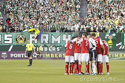 Portland Timbers Editorial Stock Image