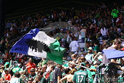 Portland Timbers Major League soccer Editorial Photography