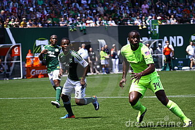 Portland Timbers v.s. Seattle Sounders Editorial Photography