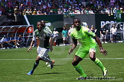 Portland Timbers v.s. Seattle Sounders Editorial Image