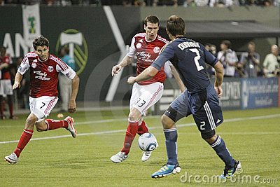 Portland Timbers vs LA Galaxy Editorial Photography
