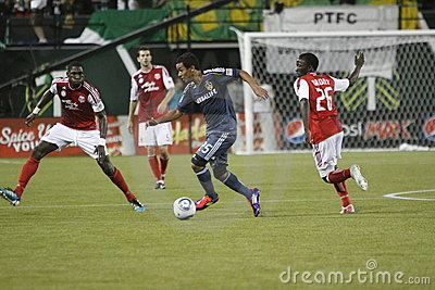 Portland Timbers vs LA Galaxy Editorial Stock Image