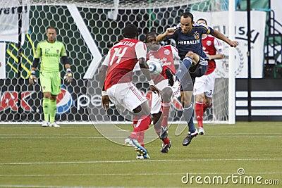 Portland Timbers vs LA Galaxy Editorial Photography