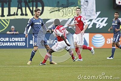 Portland Timbers vs LA Galaxy Editorial Image