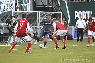 Portland Timbers vs LA Galaxy Editorial Image