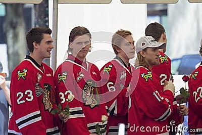 Portland Winterhawks Ice Hockey Team Players