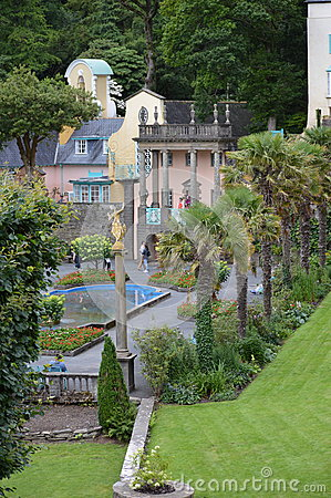 Portmerion in Wales, UK Editorial Image