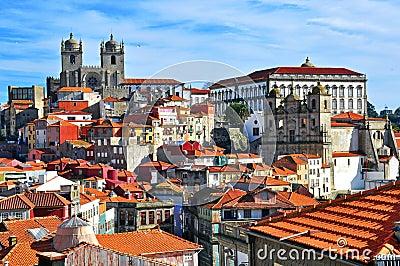 Porto cityscape Editorial Image
