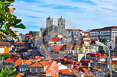 Porto cityscape Editorial Photo
