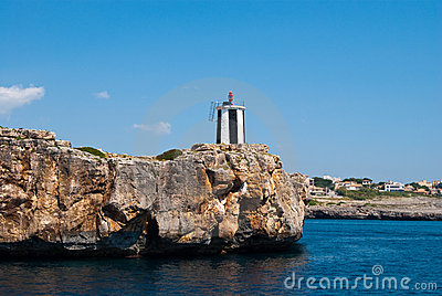 Porto Cristo Lighthouse, Majorca island