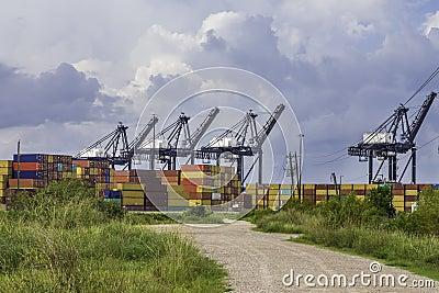 Porto de transporte