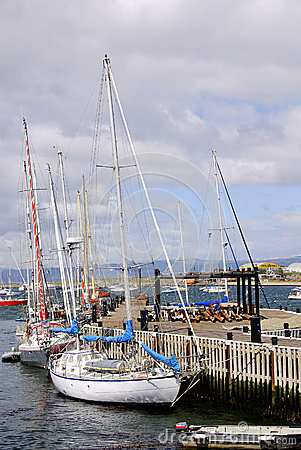 Porto de Ushuaia Fotografia Editorial