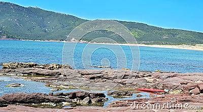 Porto ferro coastline