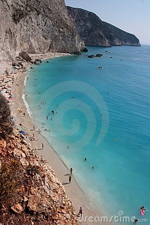 Porto Katsiki Beach in Lefkada Greece