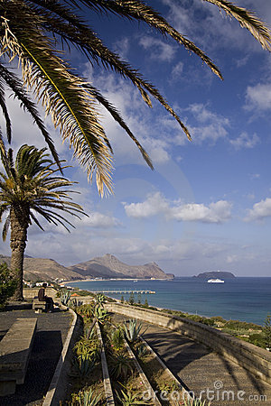Porto Santo viewpoint