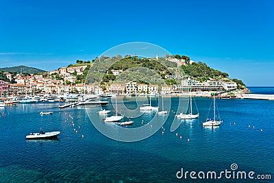 Portoazzurro, Isle of Elba, Italy.