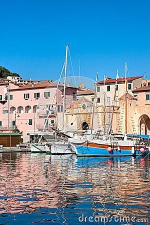 Portoferraio, Isle of Elba, Italy.