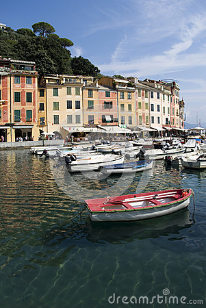 Portofino, Italy Editorial Photography