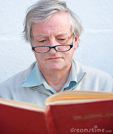 Portrait of an academic.