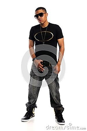 Portrait of African American Man Standing
