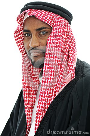 Portrait of arabic man, Sheikh