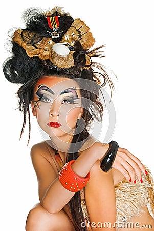 Portrait of asian beauty
