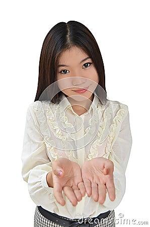Portrait of Asian Business woman