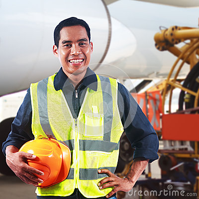 Portrait of asian professional engineer