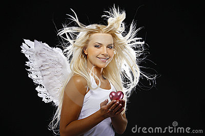 Portrait of a beautiful angel