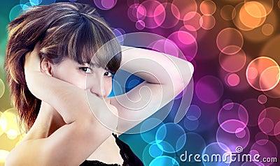 Portrait of a beautiful girl i