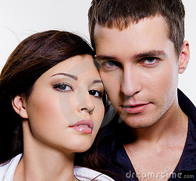 Portrait Of Beautiful Sexual Couple Royalty Free Stock Photography - Image: 12295517
