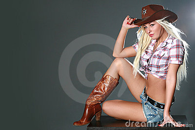 Portrait Of A Beautiful Sexy Rodeo Girl Royalty Free Stock Photo ... Yorkshire Terrier 911