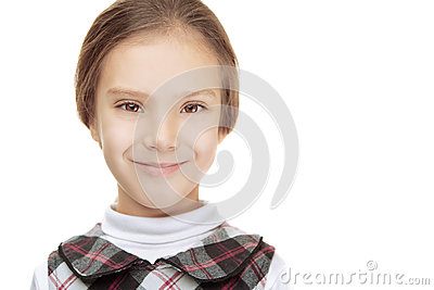 Portrait of beautiful smiling young