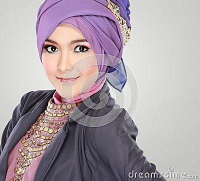 Beautiful Muslim Women Wearing Hijab