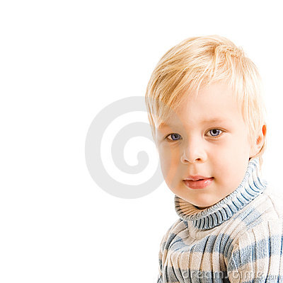 Portrait of beautiful young child