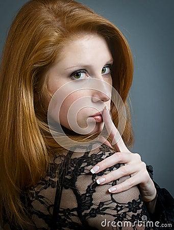 Portrait of beautiul girl