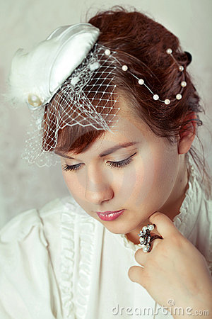 Portrait of a beauty bride
