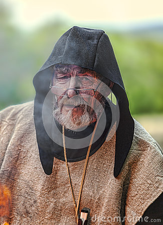 Portrait of a Blacksmith Editorial Stock Image