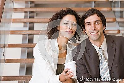 Portrait of business executives