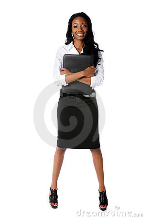 Portrait of Businesswoman Standing