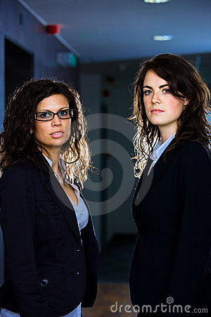 Portrait of businesswomen
