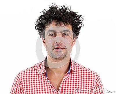 Portrait of a casual man
